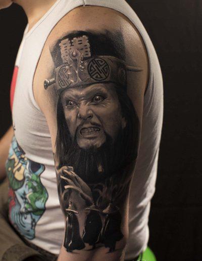 silvano fiato grosso guaio a chinatown tattoo real con FIRMA