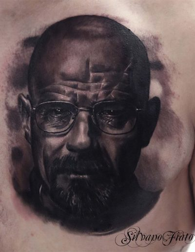 silvano fiato realistic tattoos walter white breaking bad piccola
