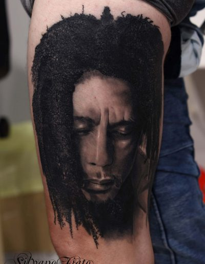 silvano fiato tattoo bob marley silver tattoo cream copia