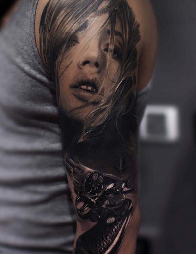 silvano fiato tattoo realistici