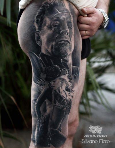 silvano fiato tattoo sin city healed signed