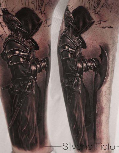 silvano fiato tatuaggio realistico copia