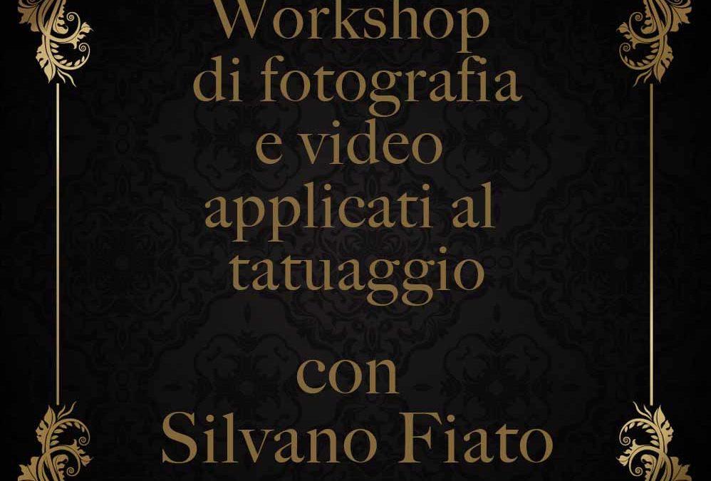 Workshop Fotografia e Video applicati al Tatuaggio